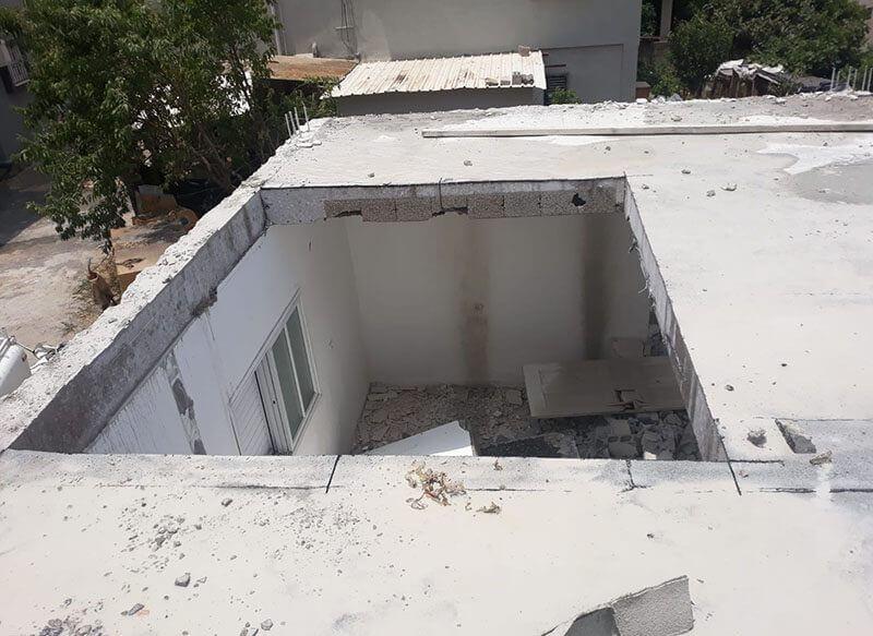 ניסור גג תקרה