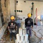 ניסור בטון קל בטון