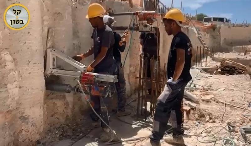 ניסור בטון בבאר יעקב קל בטון